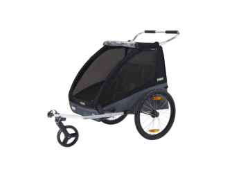 Thule Coaster XT bike trailer+Stroll Black