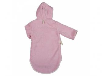 Dětský froté župan Venice  62/68 baby pink 2