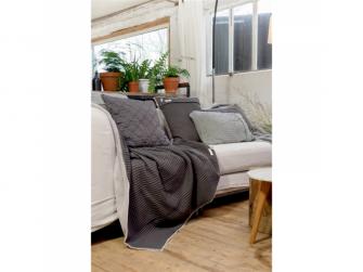 Povlak na polštář Oslo 50 x 50 cm - taupe/soft grey 4