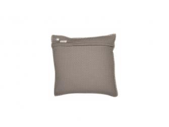 Povlak na polštář Oslo 50 x 50 cm - taupe/soft grey
