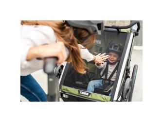 Thule Chariot Cab2 CypresGreen 3
