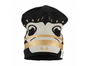 Zimní bavlněná čepice Gilded Playful Pepe 0-6m