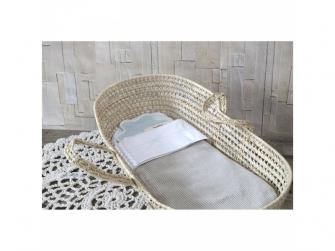 Pletená deka Vizela silver grey/white 8