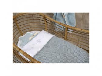 Pletená deka Vizela silver grey/white 3