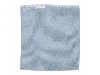 Pletená deka Vizela letní - soft blue, 75x100cm