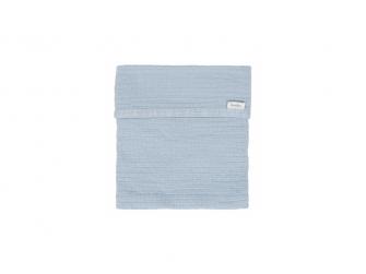 Deka Elba lemovaná - soft blue, 75x100 cm