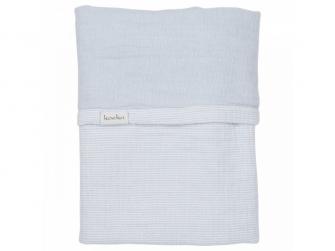 ALTEA deka do kočárku - soft blue, 75x100cm