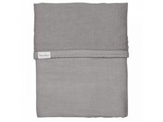 ALTEA deka do kočárku - steel grey, 75x100cm