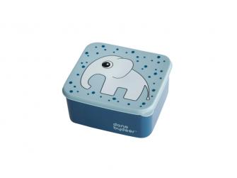 Obědový box, modrý