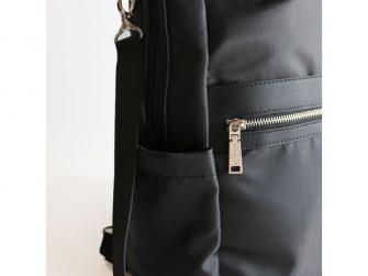 Přebalovací batoh a taška na kočárek 2v1 FAVE, black 3