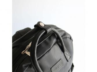 Přebalovací batoh a taška na kočárek 2v1 FAVE, black 5