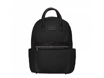 Přebalovací batoh a taška na kočárek 2v1 FAVE, black