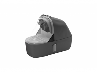 Sleek Bassinet Grey Melange 5