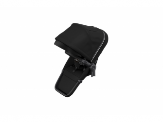 Sleek Sibling Seat Midnight Black on Black