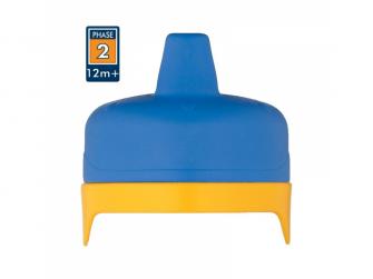 Tvrdé pítko pro kojeneckou termosku a láhev - modrá