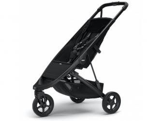 Spring Stroller Black