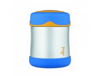 Kojenecká termoska na jídlo - modrá