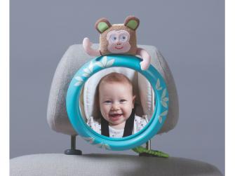 Zpětné zrcátko do auta s opičkou Marco 3