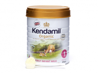 KENDAMIL 100% BIO - organické plnotučné kojenecké mléko 1 (800g)
