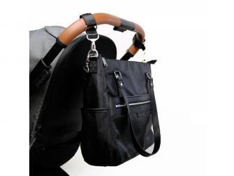 Přebalovací taška na kočárek LILY, black 6