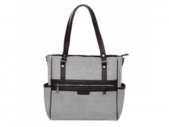 Přebalovací taška na kočárek LILY, grey melange