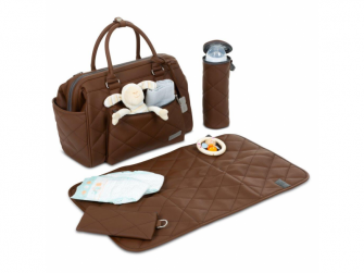 Taška na pleny Style brown 2021 7
