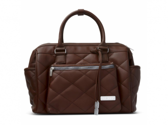 Taška na pleny Style dark brown 2021 2