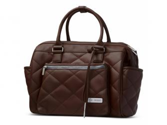 Taška na pleny Style dark brown 2021