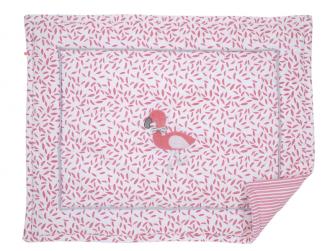 Hrací deka růžová