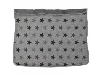 Deka Blanket Grey Stars / Grey