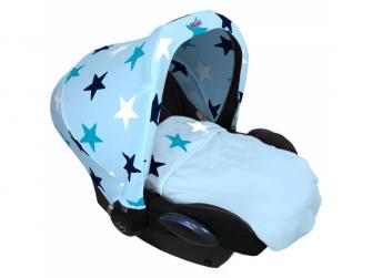 Deka Blanket Baby Blue / Blue Stars 5