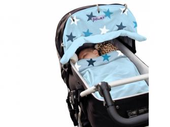 Deka Blanket Baby Blue / Blue Stars 6