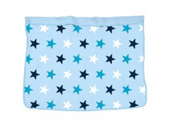 Deka Blanket Baby Blue / Blue Stars