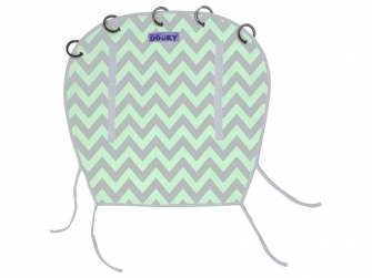 Reversible MINT/GREY CHEVRON