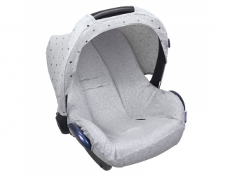Seat Cover 0+ UNI LIGHT GREY MELANGE 2