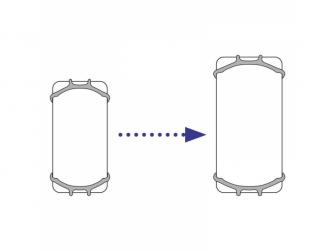 univerzální držák na mobilní telefon Transparent 5