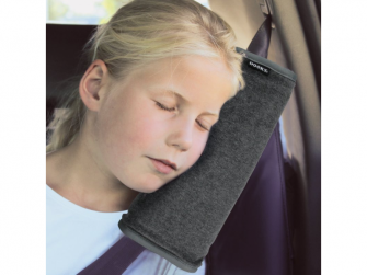 Dooky Seatbelt Pillow DARK GREY uni