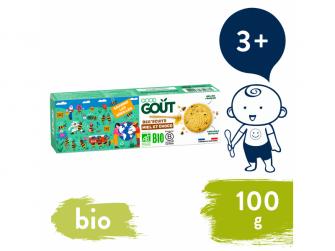 BIO Bee´scuits, sušenky s medem a kousky čokolády (100 g)