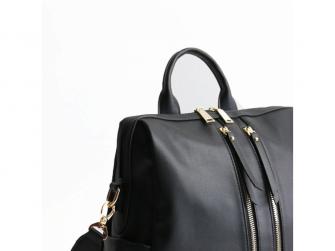 Přebalovací batoh a taška na kočárek 2v1 MINI, black 5