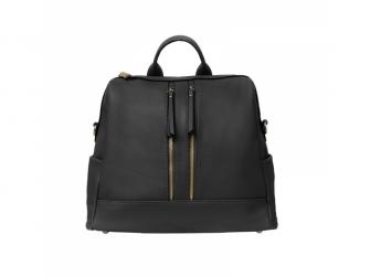 Přebalovací batoh a taška na kočárek 2v1 MINI, black