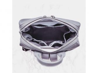 Přebalovací batoh a taška na kočárek 2v1 MINI, dark grey 2