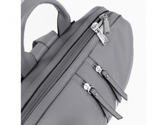 Přebalovací batoh a taška na kočárek 2v1 MINI, dark grey 4