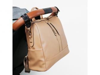 Přebalovací batoh a taška na kočárek 2v1 MINI, nude 5