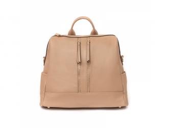 Přebalovací batoh a taška na kočárek 2v1 MINI, nude