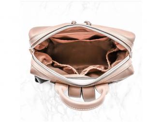 Přebalovací batoh a taška na kočárek 2v1 MINI, dusty pink 2