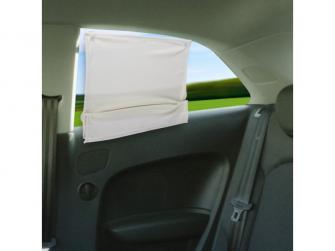 Stínítko na zadní okno auta- univerzální béžová 2