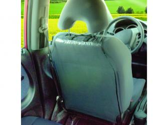Ochranný kryt na přední sedadlo TRANSPARENTNÍ 4