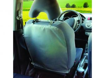 Ochranný kryt na přední sedadlo ŠEDÝ 2