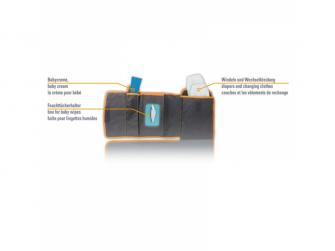 Přebalovací podložka a taška 2v1 5