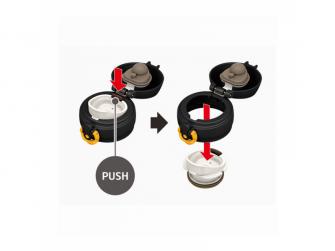 Mobilní termohrnek - černožlutá 3